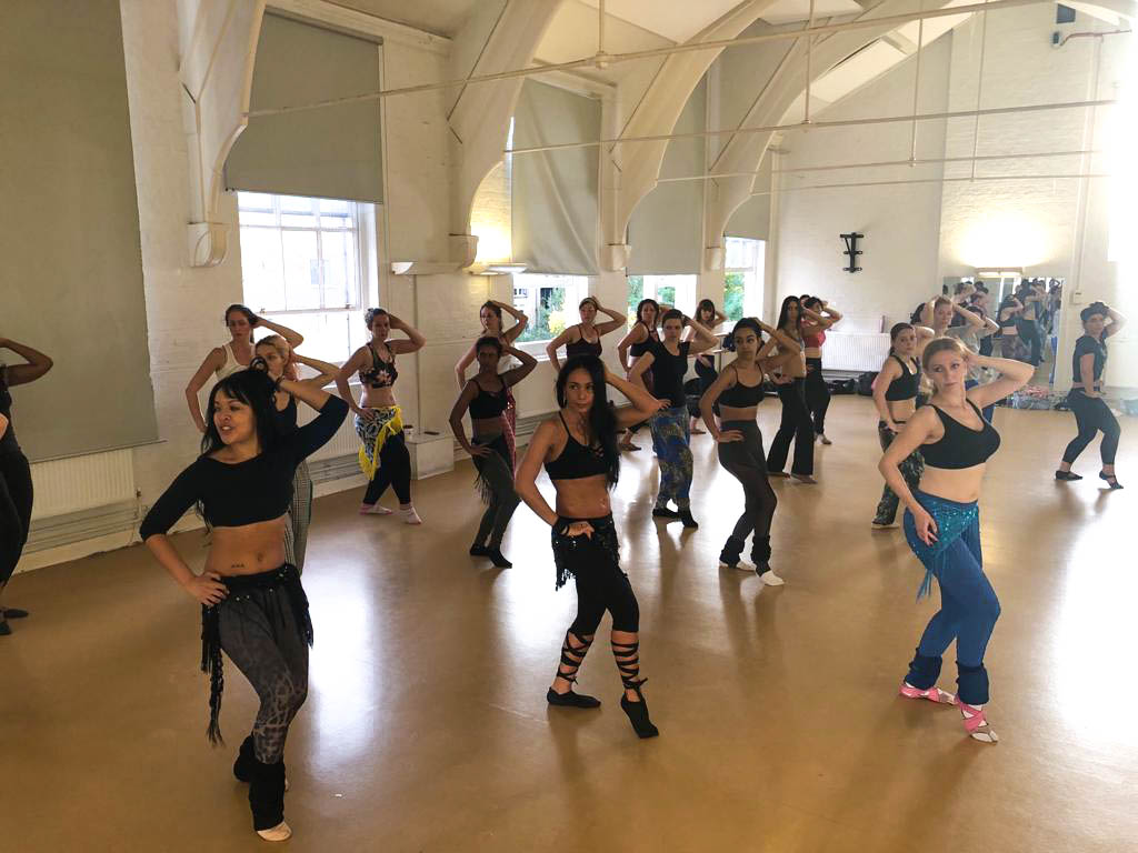 nbaf belly dance workshop session
