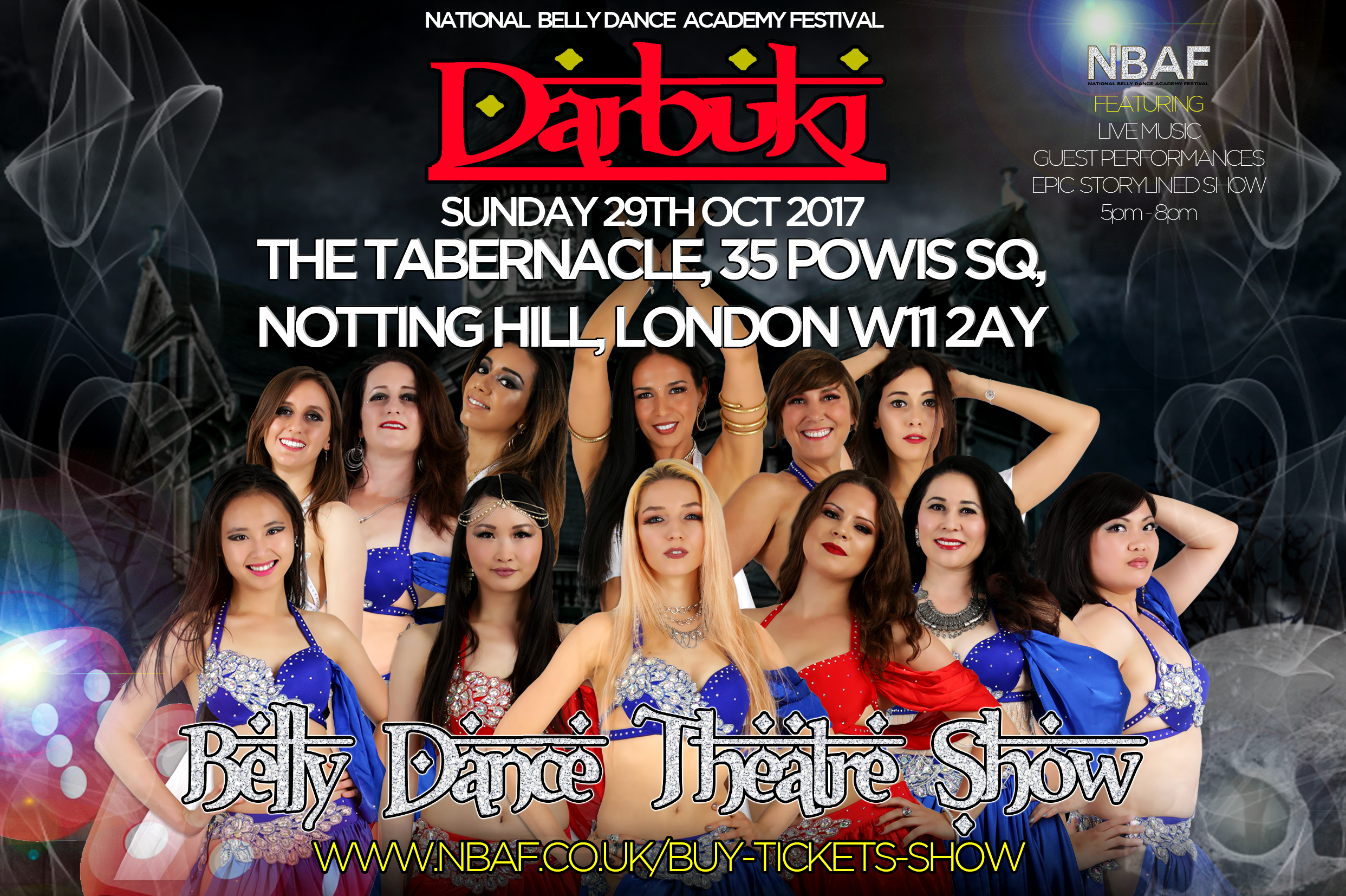 Darbuki National Belly Dance Academy Festival NBAF